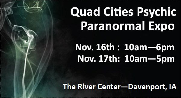 2019 Quad Cities Psychic Paranormal Expo