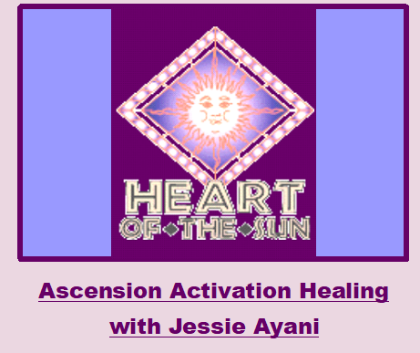 ascension activation healing with Jessie Ayani